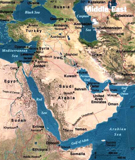خريطة المملكة العربية السعودية بالانجليزي Kharita Blog